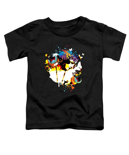 Poetic Peacock - Bespattered Toddler T-Shirt