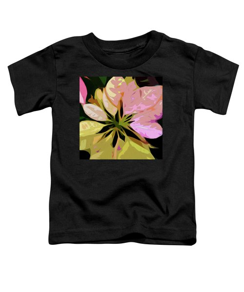 Poinsettia Tile Toddler T-Shirt