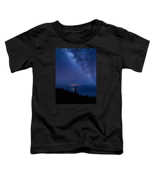 Pointing To The Heavens Toddler T-Shirt
