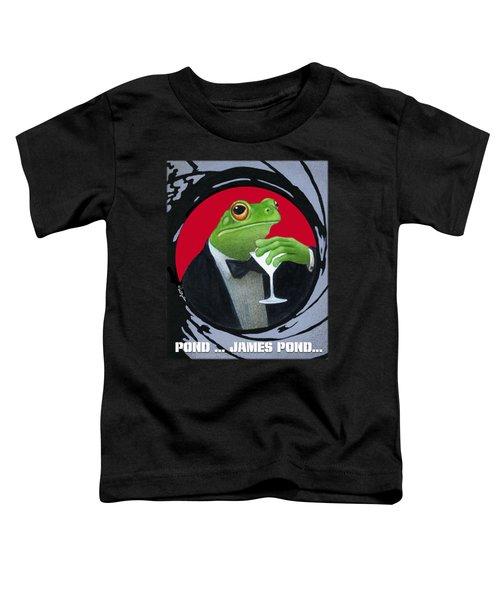 Pond...james Pond... Toddler T-Shirt