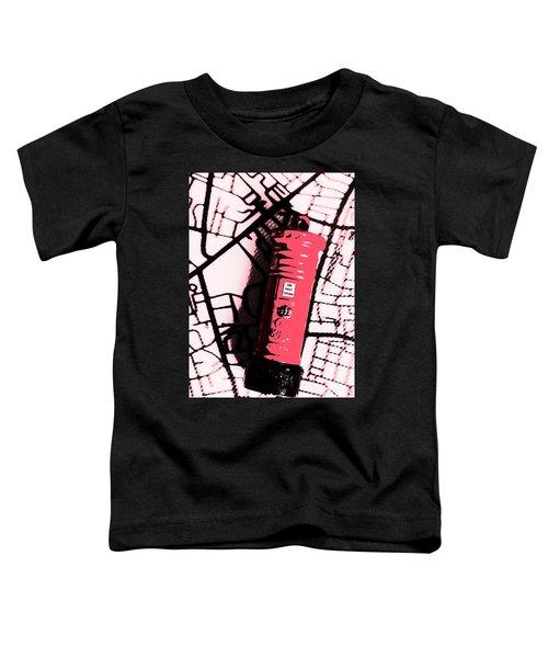 Pop Art Pillar Post Box Toddler T-Shirt
