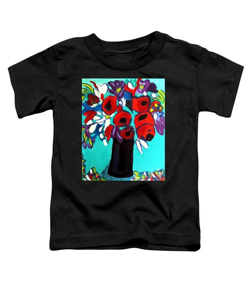 Poppies Red Toddler T-Shirt
