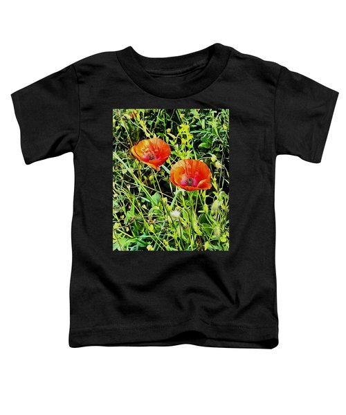 Poppy Beauties Toddler T-Shirt