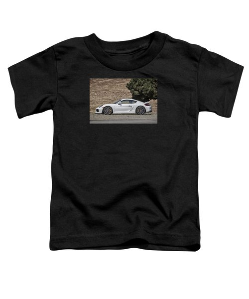 Porsche Cayman Gt4 Side Profile Toddler T-Shirt
