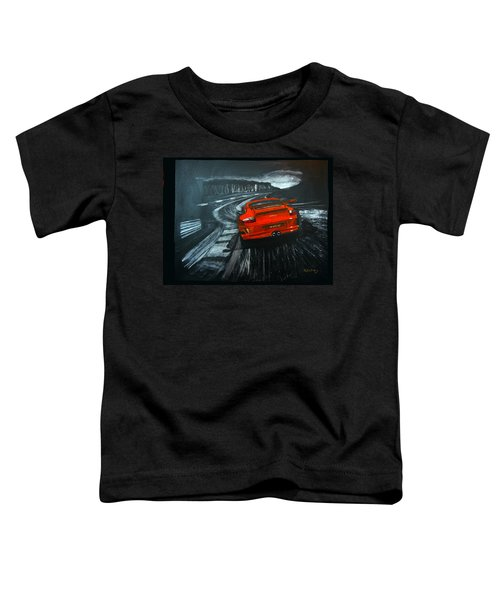 Porsche Gt3 Le Mans Toddler T-Shirt