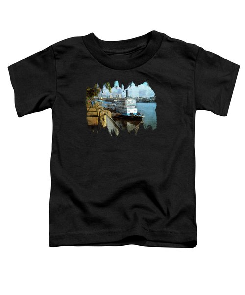 Portland Sunday Walk Toddler T-Shirt