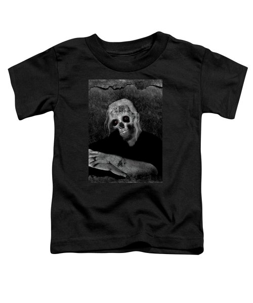 Portrait Of A Zombie Toddler T-Shirt