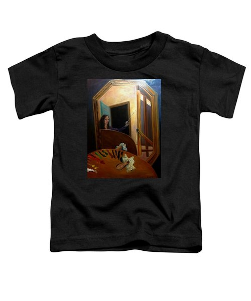 Portrait Of The Artist Toddler T-Shirt