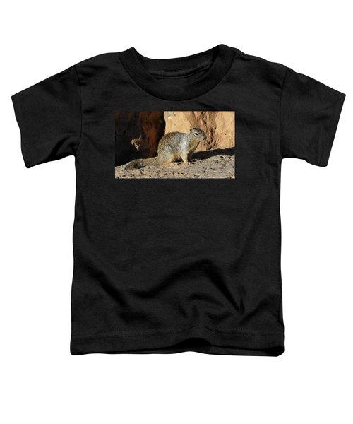 Posing Squirrel Toddler T-Shirt