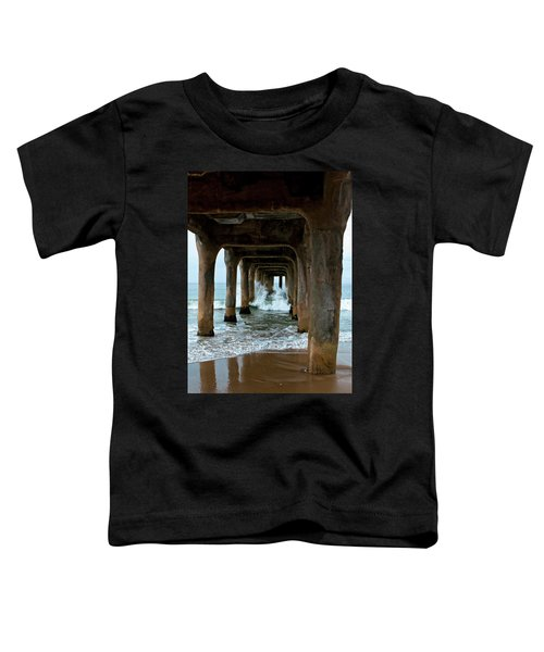 Pounded Pier Toddler T-Shirt