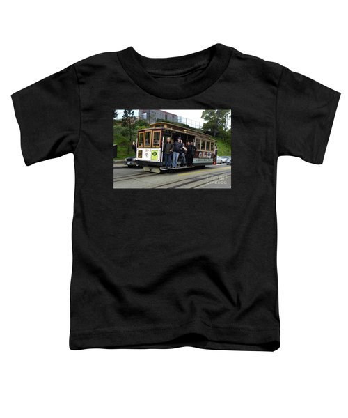 Powell And Market Street Trolley Toddler T-Shirt