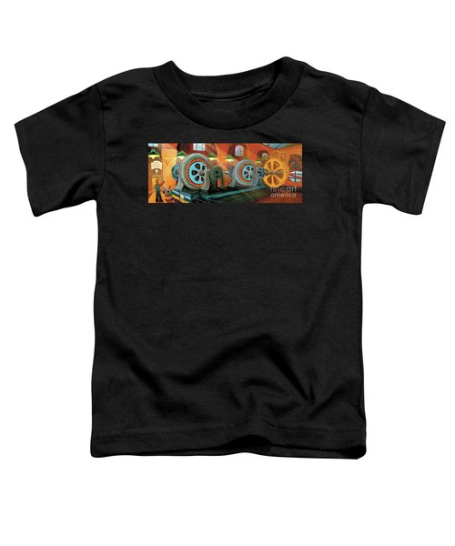 Power Plant Turbines Toddler T-Shirt