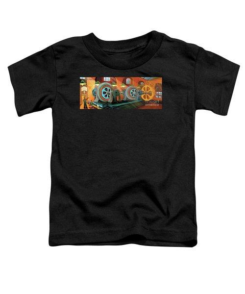 Power Plant Turbines Toddler T-Shirt