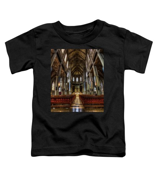 Our Lady Of Nahuel Huapi Cathedral In The Argentine Patagonia Toddler T-Shirt