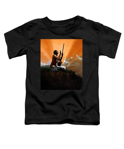 Prayer To The Great Mystery Toddler T-Shirt