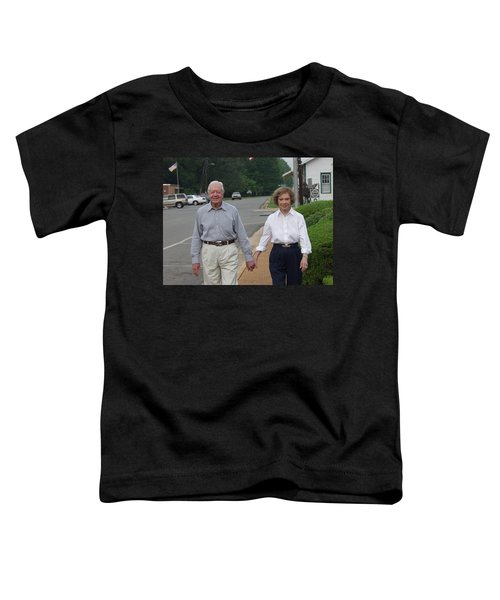 President And Mrs. Jimmy Carter Toddler T-Shirt