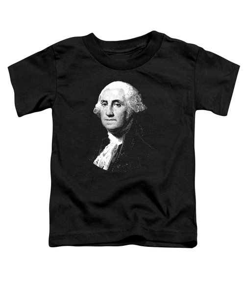 President George Washington Graphic  Toddler T-Shirt by War Is Hell Store