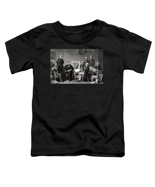 President Lincoln And His Cabinet Toddler T-Shirt