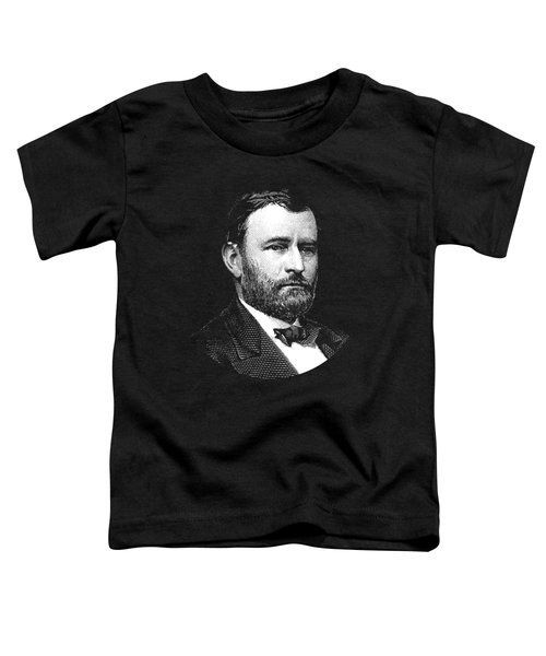 President Ulysses S. Grant Graphic Three Toddler T-Shirt