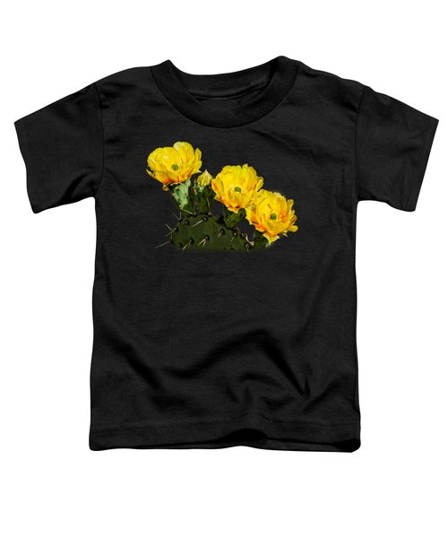Prickly Pear Flowers H42 Toddler T-Shirt