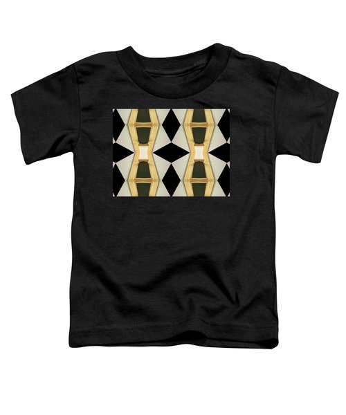 Primitive Graphic Structure Toddler T-Shirt