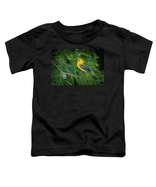 Prothonatory Warbler 9809 Toddler T-Shirt