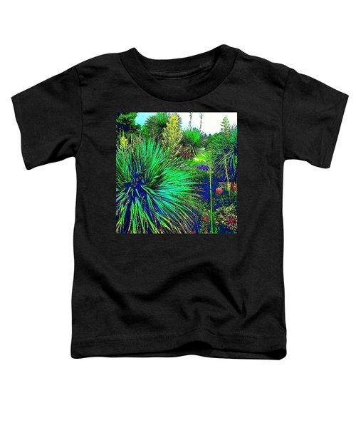 Psychedelic Yuccas. #plant #yucca Toddler T-Shirt