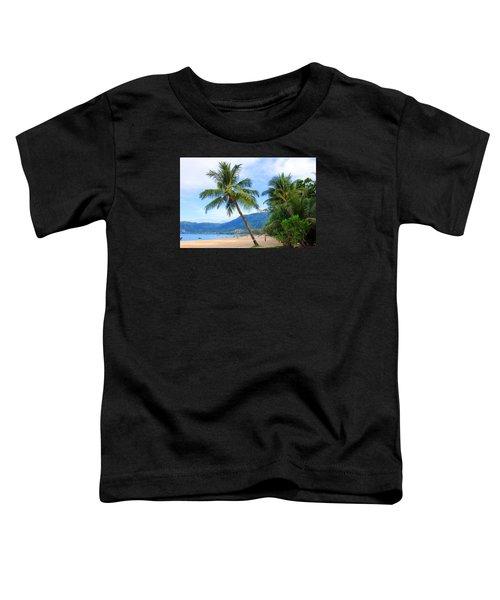 Phuket Patong Beach Toddler T-Shirt by Mark Ashkenazi