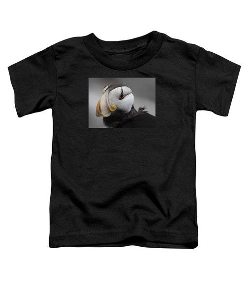 Puffin Portrait Toddler T-Shirt