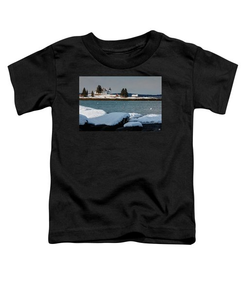 Pumpkin Island Lighthouse Toddler T-Shirt