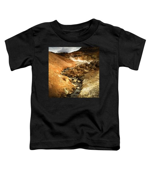 Pure Iceland - Geothermal Area Krysuvik Toddler T-Shirt