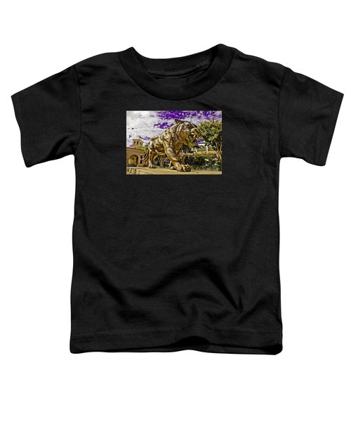 Purple And Gold Toddler T-Shirt