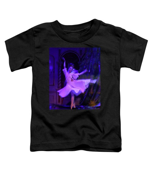 Purple Ballet Dancer Toddler T-Shirt