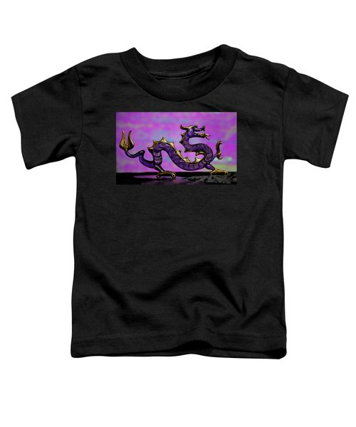 Purple Dragon Toddler T-Shirt
