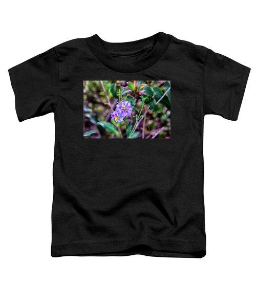 Purple Flower Family Toddler T-Shirt