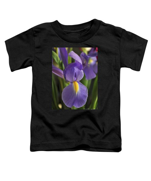 Purple Iris Toddler T-Shirt