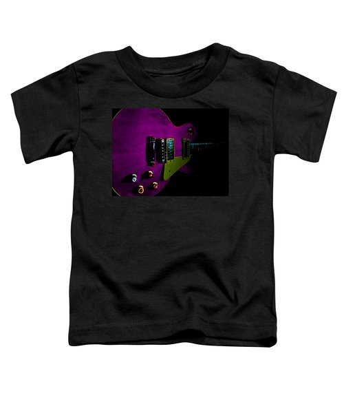 Purple Relic Les Paul II Hover Series Toddler T-Shirt
