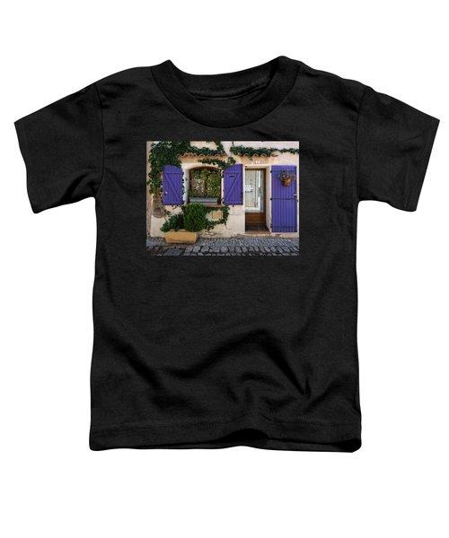 Purple Shutters Toddler T-Shirt