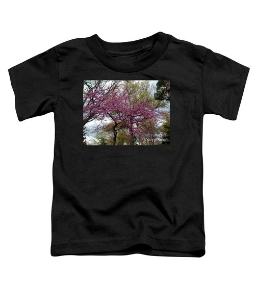 Purple Spring Trees Toddler T-Shirt