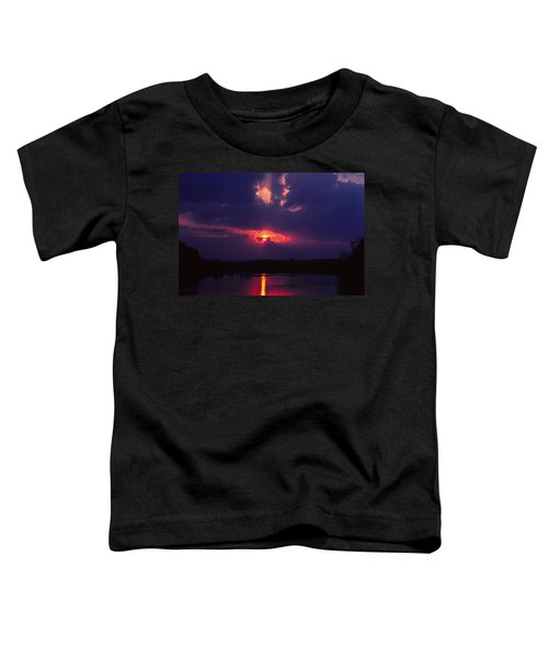 Purple Sunset Toddler T-Shirt