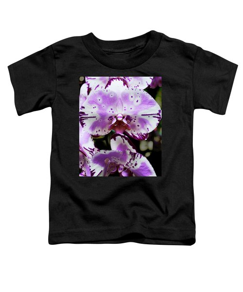 Purple And White Orchid Toddler T-Shirt