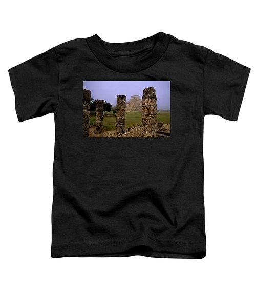 Pyramid At Chichen Itza Toddler T-Shirt