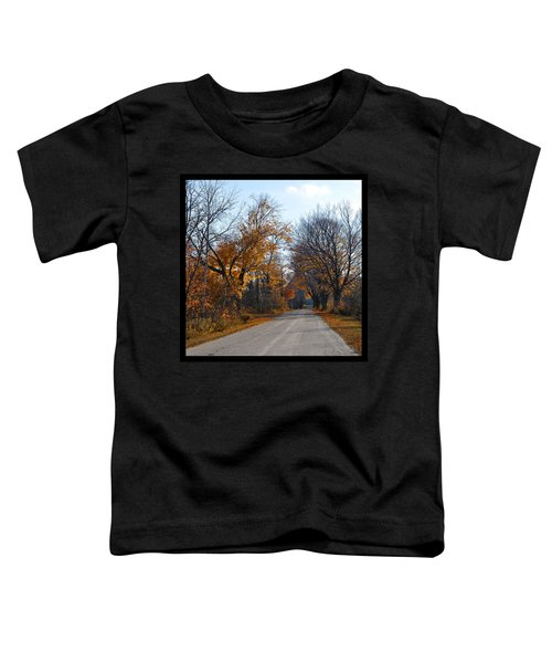 Quarterline Road Toddler T-Shirt