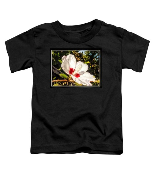 Queenly Hibiscus Toddler T-Shirt