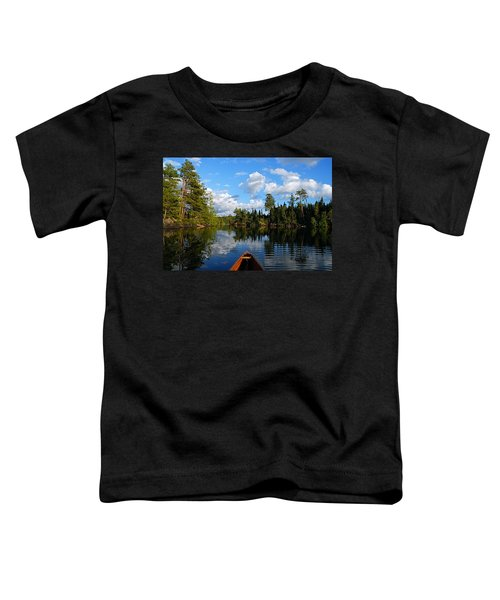 Quiet Paddle Toddler T-Shirt
