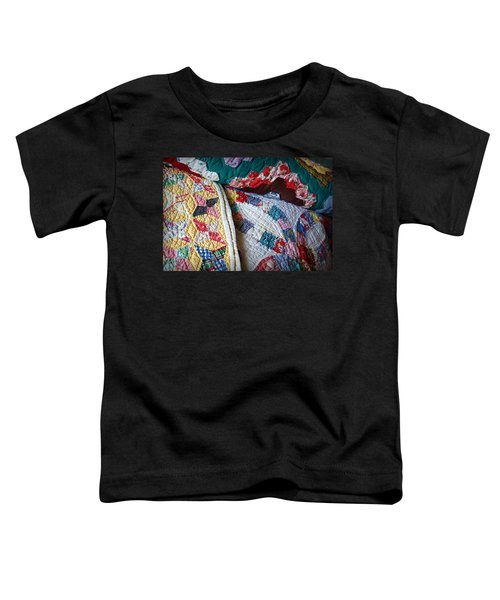 Quilted Comfort Toddler T-Shirt