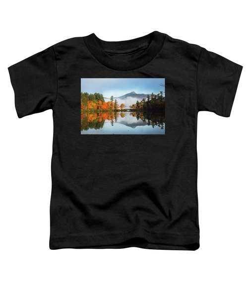 Mount Chocorua Fall Reflection Toddler T-Shirt