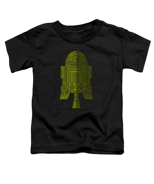 R2d2 - Star Wars Art - Green 2 Toddler T-Shirt