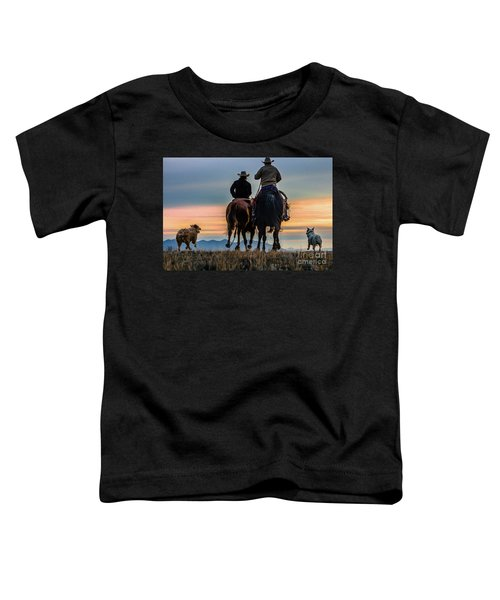 Racing To The Sun Wild West Photography Art By Kaylyn Franks Toddler T-Shirt