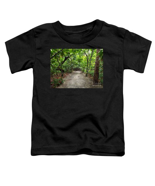 Rain Forest Road Toddler T-Shirt